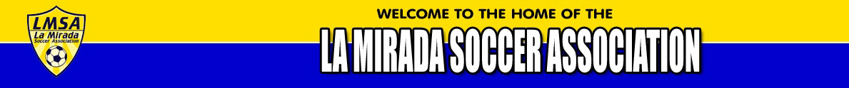 La Mirada Soccer Association banner